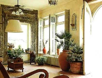 英式风格乡村室内图片