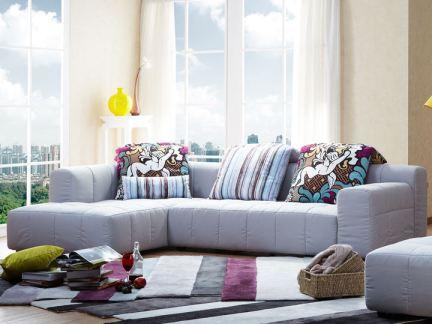 顾家家居布艺系列沙发图9-2018家居布艺沙发图片 房天下装修效果图图片