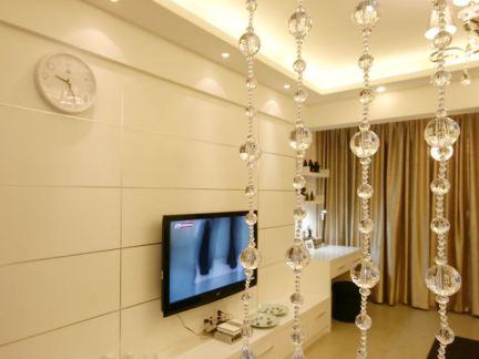 简约时尚装修客厅电视背景墙图片