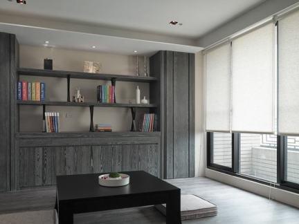 140平米美式现代三居室装修效果图-140平米三居室装修图 房天下装修
