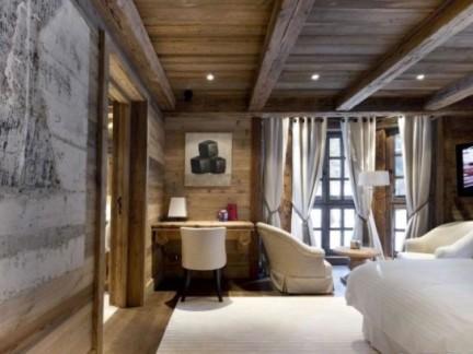 卧室木地板地台效果图