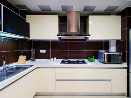 家庭装修设计厨房效果图