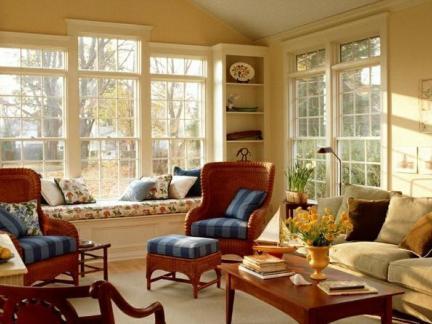 现代别墅客厅欧式家具图片