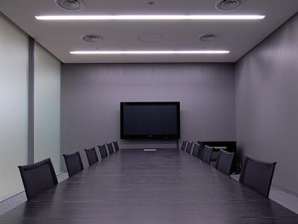 长方形会议室室内设计图片欣赏图片