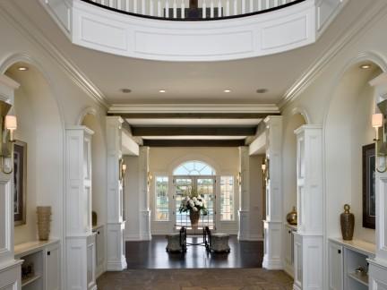 家装柱子走廊吊顶装修效果图