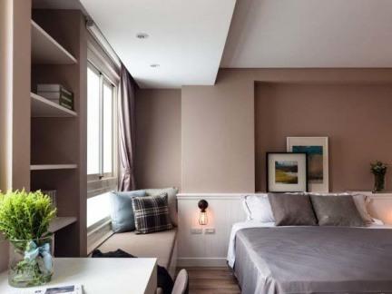 简约式12平米卧室装修图片
