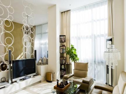 家庭设计装修室内电视背景墙图片