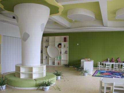 大型幼儿园教室布置效果图