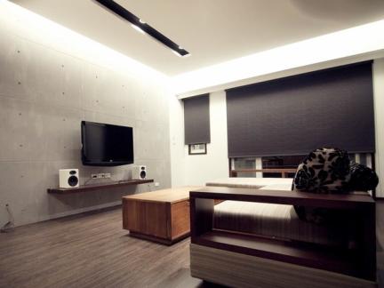 9.8万半包三房二厅现代日式风格