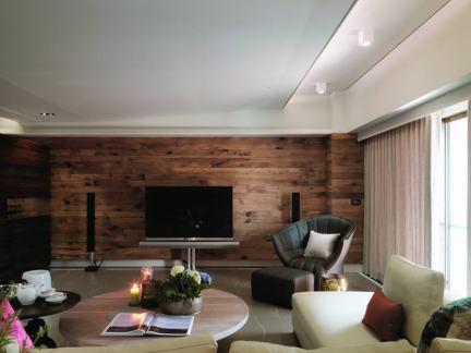 70平米现代风格一居室装修图片
