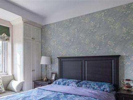 田园家装卧室壁纸图片