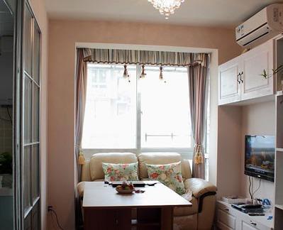 简约风格休闲室家具布置效果图