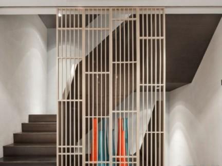 楼梯隔断设计-胡如珊作品