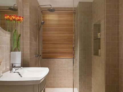 欧式简单瓷砖卫生间装修