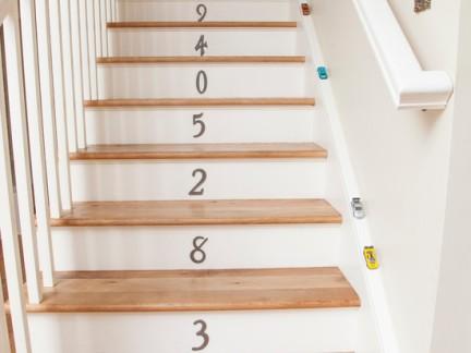 实木整体楼梯设计