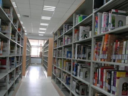 图书馆书架设计室内图片