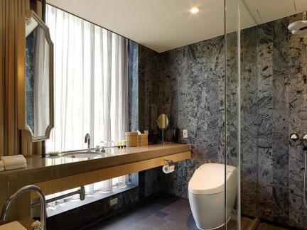 宾馆卫生间设计装修效果图图片