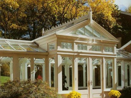 美式别墅阳光房图片
