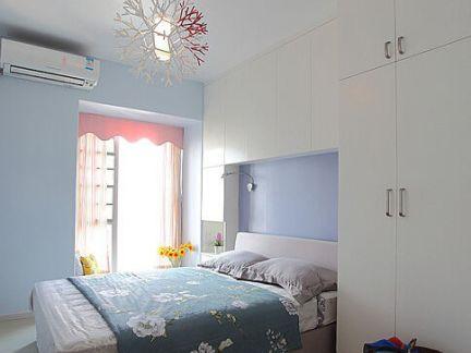 简约浪漫优雅卧室整体装修效果图