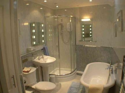 卫生间浴室淋浴房效果图