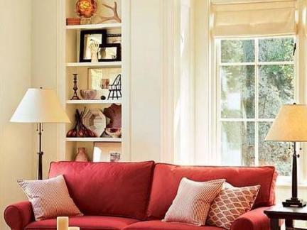 美式田园家具客厅沙发图片