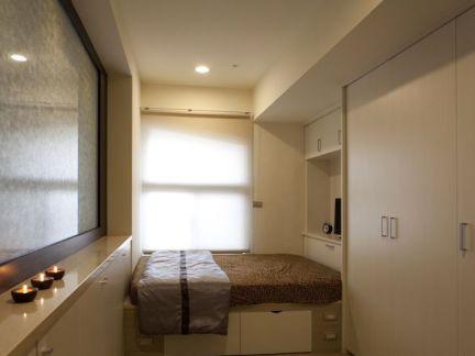 日式家装室内榻榻米床图