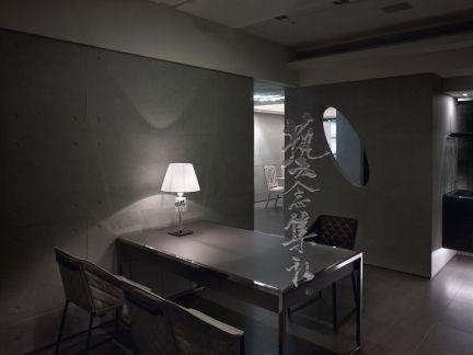 日式风格客厅餐厅隔断装修效果图欣赏