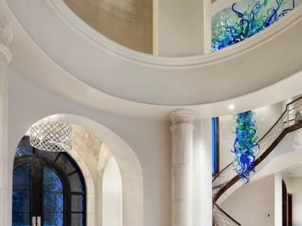 家庭楼梯立柱设计装修