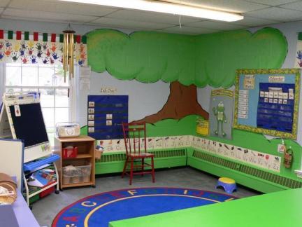2018托班教室区域布置图片 房天下装修效果图