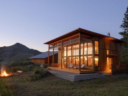 小木屋别墅图片