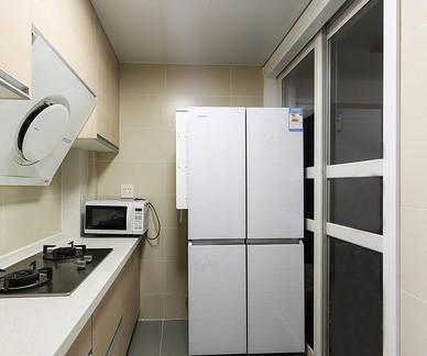 简易4平米厨房橱柜图