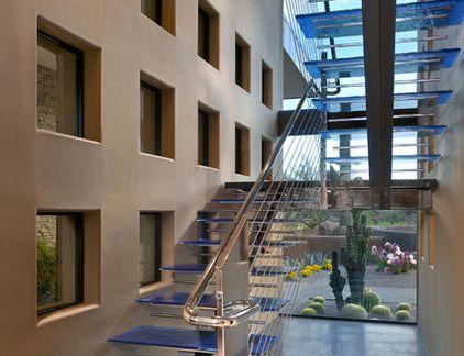 不锈钢家庭楼梯设计