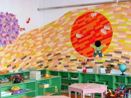 幼儿园室内主题环境设计效果图