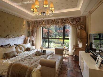 欧式卧室豪宅装修图片