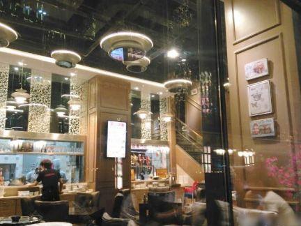 露丝茶餐厅内装潢设计