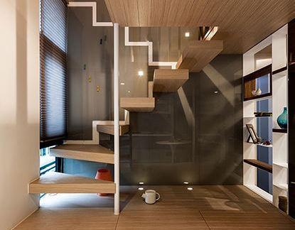 家居设计室内创意楼梯图片
