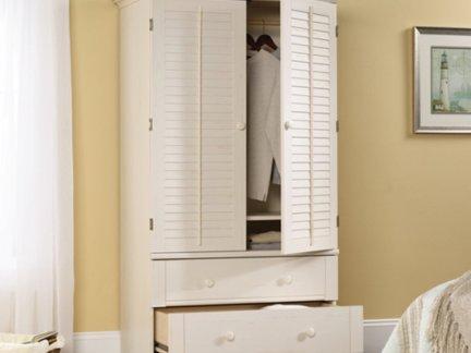 暖白色衣柜设计图纸