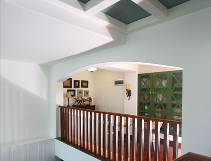家庭装修楼梯间吊顶图片欣赏大全