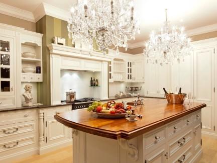 厨房欧式水晶吊灯效果图