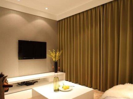 日式简约时尚80平米两室一厅装修效果图-58平米两室一厅装修图