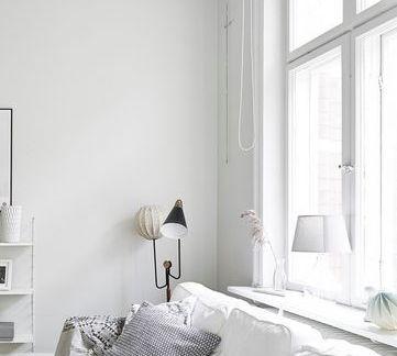 时尚黑白灰北欧风格家居装修