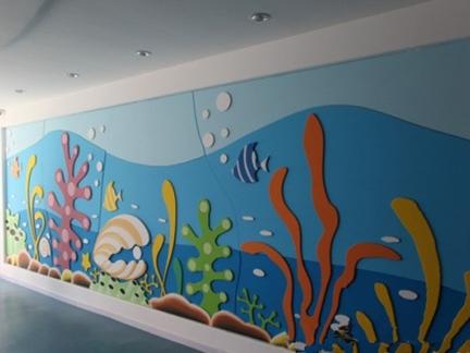 幼儿园室内主题墙面设计效果图