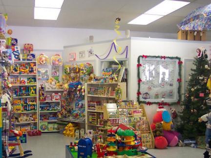 创意玩具店内部装修