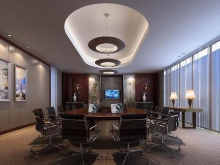 会议室设计案例吊顶