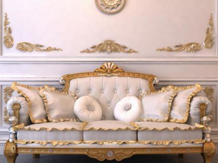 客厅沙发欧式家具图片