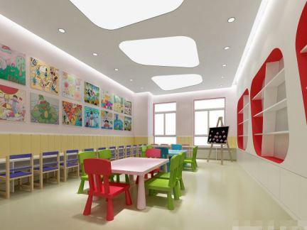 2014幼儿园教室墙面布置图片