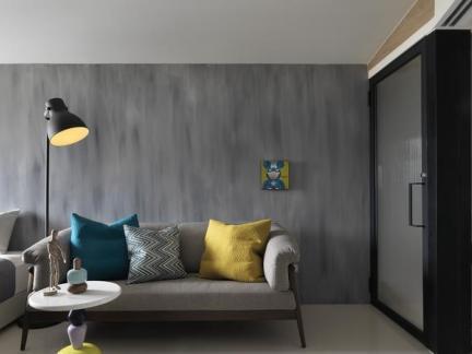 80平米现代单身公寓设计装修