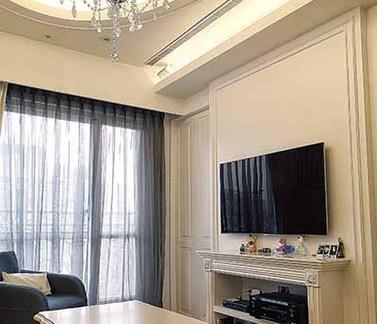 简欧式家居客厅装修案例
