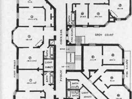 快捷酒店平面设计图