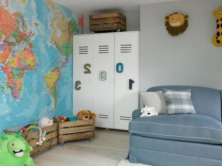 儿童房间的装饰